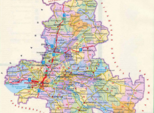 На девять территориально-экономических округов поделят Ростовскую область