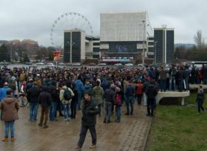 Адвоката Берковича наказали за эпатажное выступление на антиправительственном митинге в Ростове