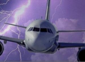 В самолет «Донавиа», летевший из Стамбула в Сочи, ударила молния