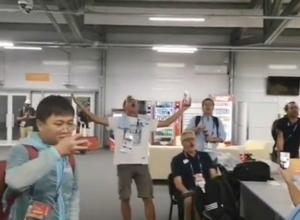 Уругвайские журналисты, не сдерживая эмоций, пели о победе любимой команды в Ростове
