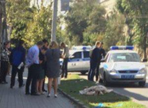 Труп женщины обнаружили на газоне в центре Ростова