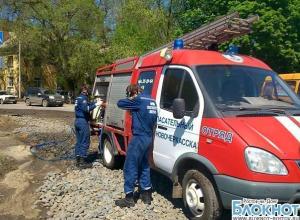 В Новочеркасске в Октябрьском микрорайоне разлили неизвестное ядовитое вещество
