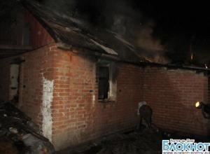 В Ростовской области произошел пожар в доме многодетной семьи: в огне заживо сгорели трое детей