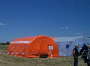 В Ростовской области в связи с увеличением потока беженцев развернут еще 4 палаточных городка