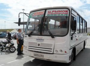 Ростовские чиновники пообещали продлить маршрут единственного автобуса, ездящего в «МегаМАГ»