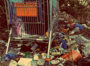 Под жуткими и мерзкими завалами мусора раскопали гигантские долги ростовских жалобщиков