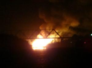 Ночной пожар полностью уничтожил одну из достопримечательностей Ростова