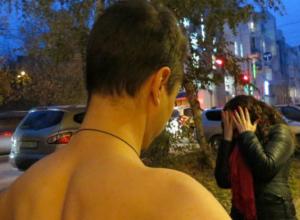 Сексуальный извращенец принялся набрасываться сзади на девушек в центре Ростова