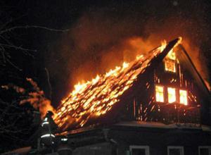 Мужчина сгорел заживо в своем большом частном доме в Ростовской области