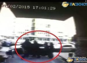 Избиение в Ростове участника Олимпийских игр попало на камеру наблюдения