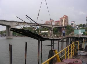 В Ростове руководитель строительной компании похитил 3, 5 млн на реконструкции причала
