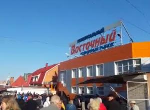На сгоревшем рынке «Темерник» зреет бунт продавцов