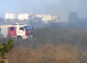 Пылающая второй день свалка на окраине Ростова повергла в шок местных жителей
