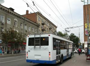 Чрезмерно стеснительный водитель троллейбуса довел до бешенства своих пассажиров в Ростове