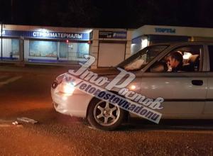 Перебегавшую дорогу в пяти метрах от «зебры» молодую ростовчанку «поймал на капот» водитель иномарки