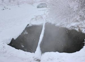 На российском Донбассе над заброшенными шахтами начала проваливаться земля