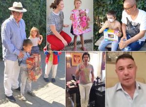 В Ростове российские звезды навещают детей из Украины и исполняют их мечты