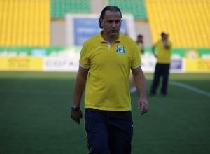 Руководство ФК «Ростов» приняло отставку главного тренера Миодрага Божовича