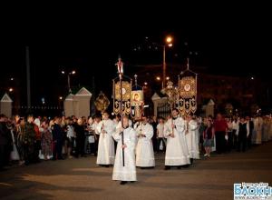 Донские православные отмечают праздник Великой Пасхи
