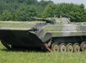 В Ростовской области на территорию России вторглась украинская БМП