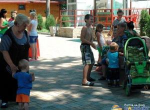 С начала действия режима ЧС в Ростовскую области прибыло  более 180 тыс украинских беженцев