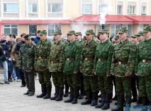 13 тысяч человек призваны на военную службу в Южном округе