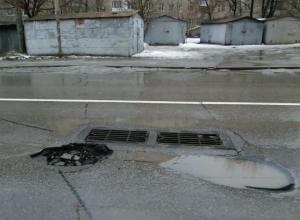 Ямы-убийцы колес собирают «кровавую дань» на улицах Ростова