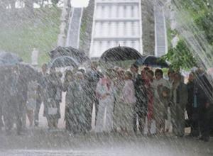 В Ростовской области сильный дождь и ливень будут идти до конца дня