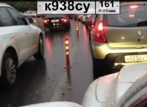 В Ростове-на-Дону водители-хамы устраивают гонки по встречке