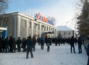 Бунтующим горнякам из Ростовской области помешали выехать в Москву полицейской спецоперацией