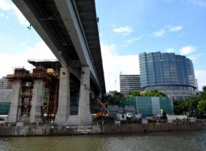 Ворошиловский мост реконструируют с опережением графика