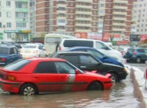 Тонущие в автомобилях на Темернике жители Ростова обратились с возмущенным вопросом в Кушнареву