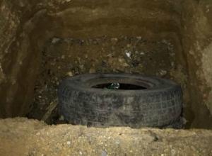 Женщина провалилась в оставленную «без присмотра» огромную двухметровую яму в Ростове