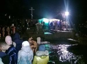 Ростовчане отмечают Крещение Господне