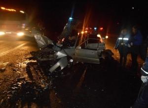 На трассе М-4 «Дон» столкнулись «ВАЗ-21140» и «Камаз»: двое погибли