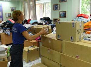В ДГТУ открыли пункт сбора помощи для жертв пожара в Ростове