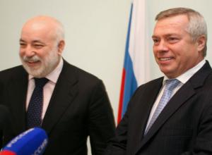 Губернатор Голубев передумал отдавать Виктору Вексельбергу ростовскую землю без конкурса