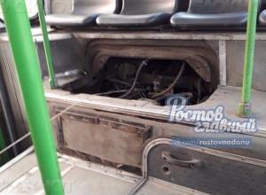 Ростовский владелец автобуса «на веревочке» оправдался за дикий метод вождения