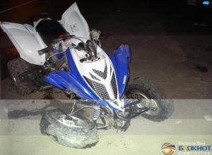 В Ростовской области водитель квадроцикла погиб, врезавшись в забор
