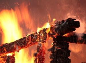 Женщина сгорела в собственном доме в Ростовской области
