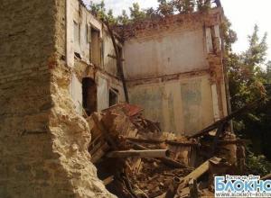 В центре Ростова обрушилась стена еще одного аварийного дома