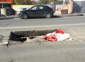 Дорожники подготовили новую огромную «ловушку» для ростовских водителей