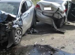 Годовалый ребенок и девушка пострадали в ДТП на трассе в Ростовской области