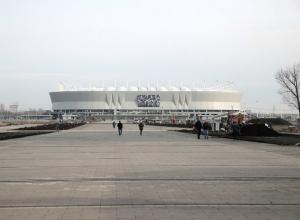 Благоустройство пристадионной территории «Ростов-Арены» выполнено почти на 80%