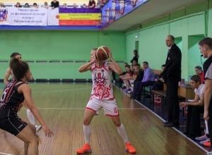 Ростовские баскетболистки дважды обыграли девушек из «Спарта энд К-2»