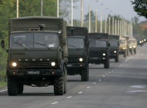 В Ростовской области произошло ДТП с военным транспортом