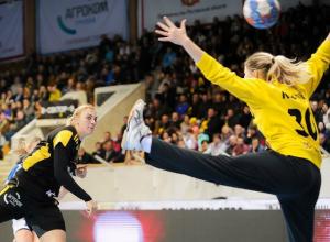 Выездной разгром немок устроили гандболистки «Ростов-Дона» в полуфинале Кубка ЕГФ