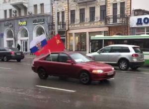 Военная техника проехала по улицам Ростова-на-Дону
