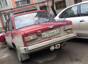 Девичий «секрет» под амбарным замком в красной машине обнаружил мужчина в Ростове