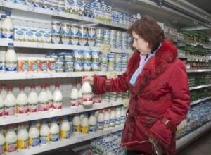 В Ростове выросла цена на  молоко, сметану, творог